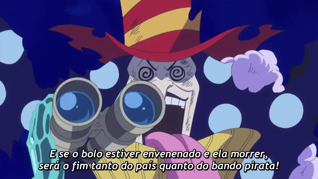One Piece Episódio - 866Ele Finalmente Voltou! Sanji, o Homem que Deterá a Imperatriz do Mar!