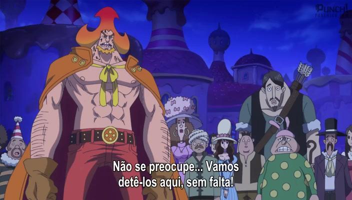 One Piece Episódio - 867Escondida nas Sombras! Luffy na Mira da Assassina!