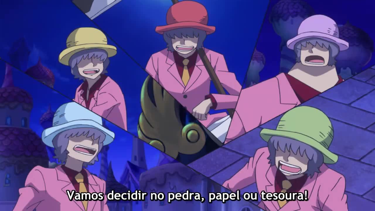 One Piece Episódio - 872Situação Desesperadora! Uma Cilada Implacável para Luffy!
