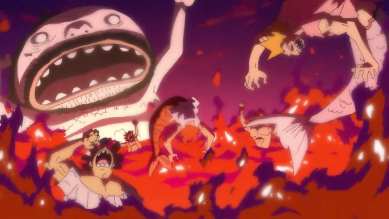 One Piece Episódio - 875Um Sabor Cativante! O Bolo da Felicidade de Sanjo!!