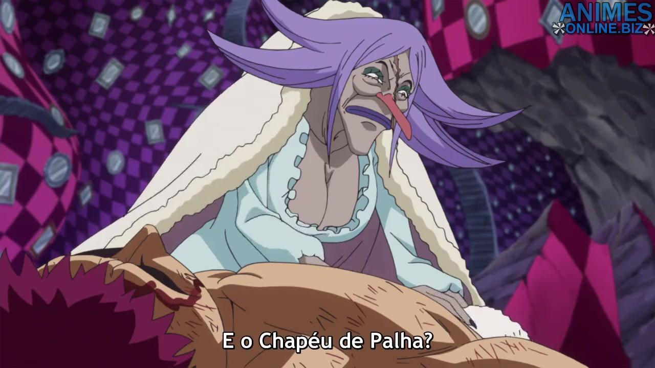 One Piece Episódio - 877Hora da Despedida! O Último Desejo de Pudding!