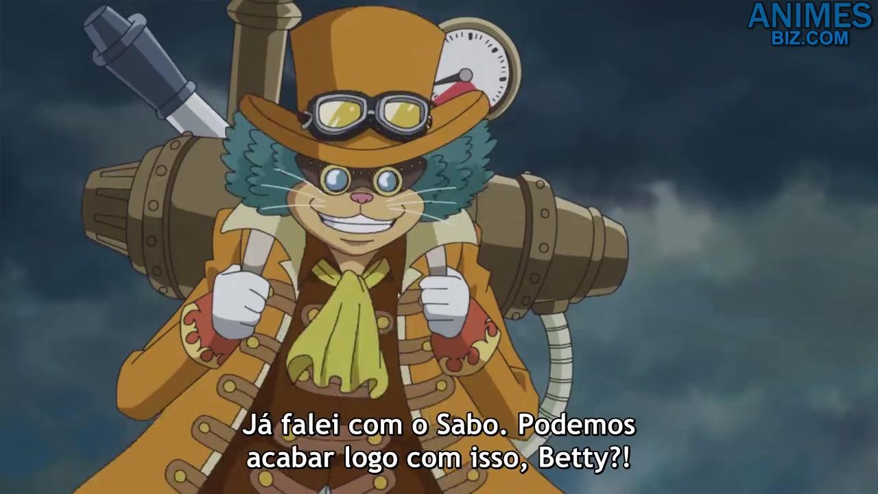 One Piece Episódio - 880Sabo Entra em Ação! Surgem Todos os Capitães do Exército Revolucionário!