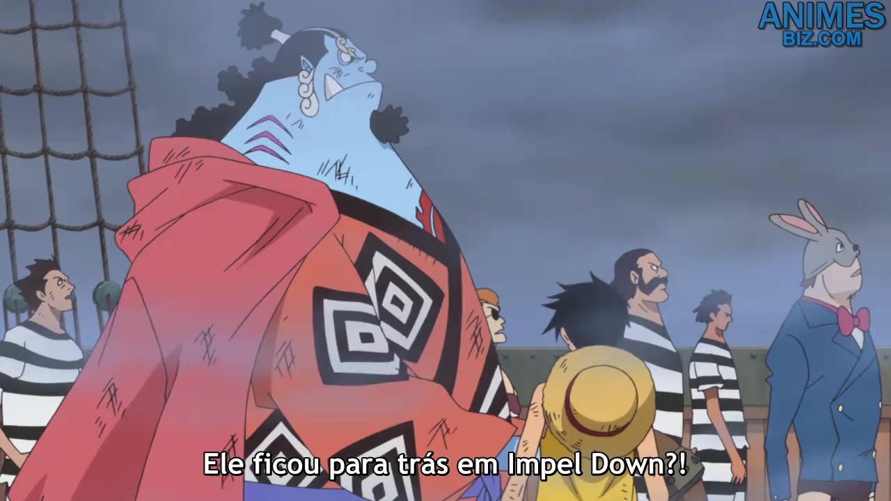 One Piece Episódio - 881Entrando em Ação! O Implacável Novo Almirante da…