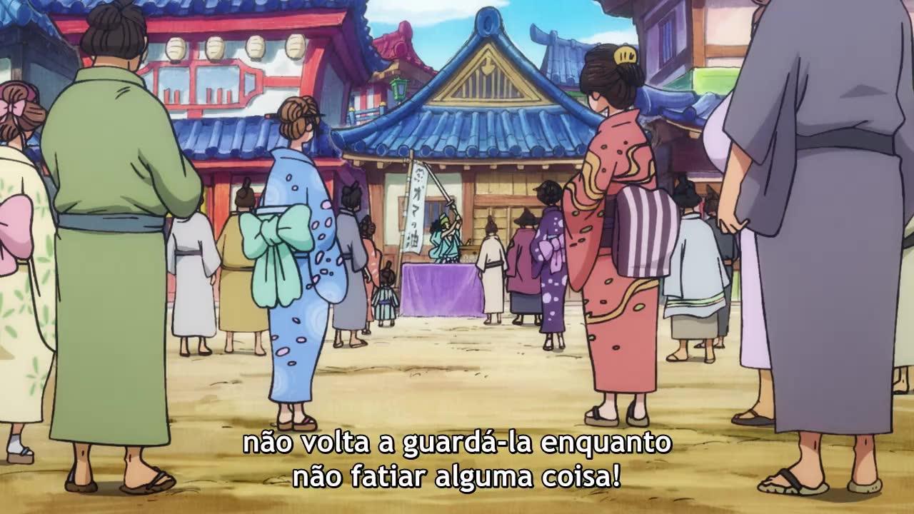 One Piece Episódio - 892Subindo a Cachoeira! A Grande Jornada pela Zona Marinha de Wano!