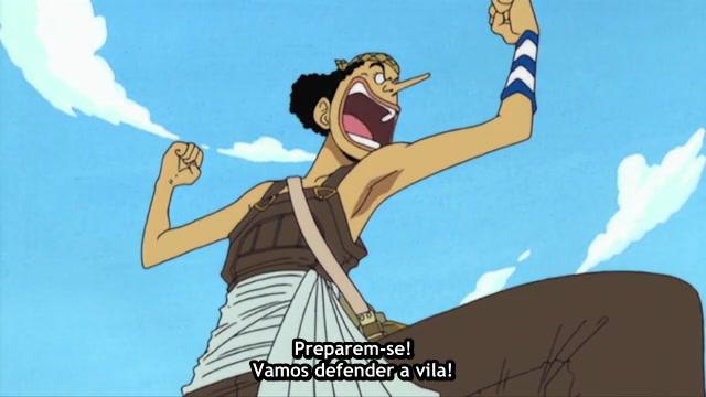 One Piece Episódio - 9Honorável Mentiroso?