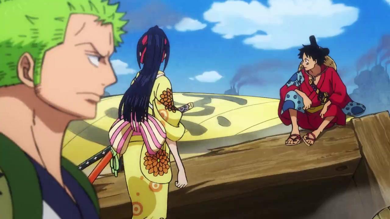 One Piece Episódio - 908A Chegada do Navio Tesouro! Luffytaro Retribui o Favor!