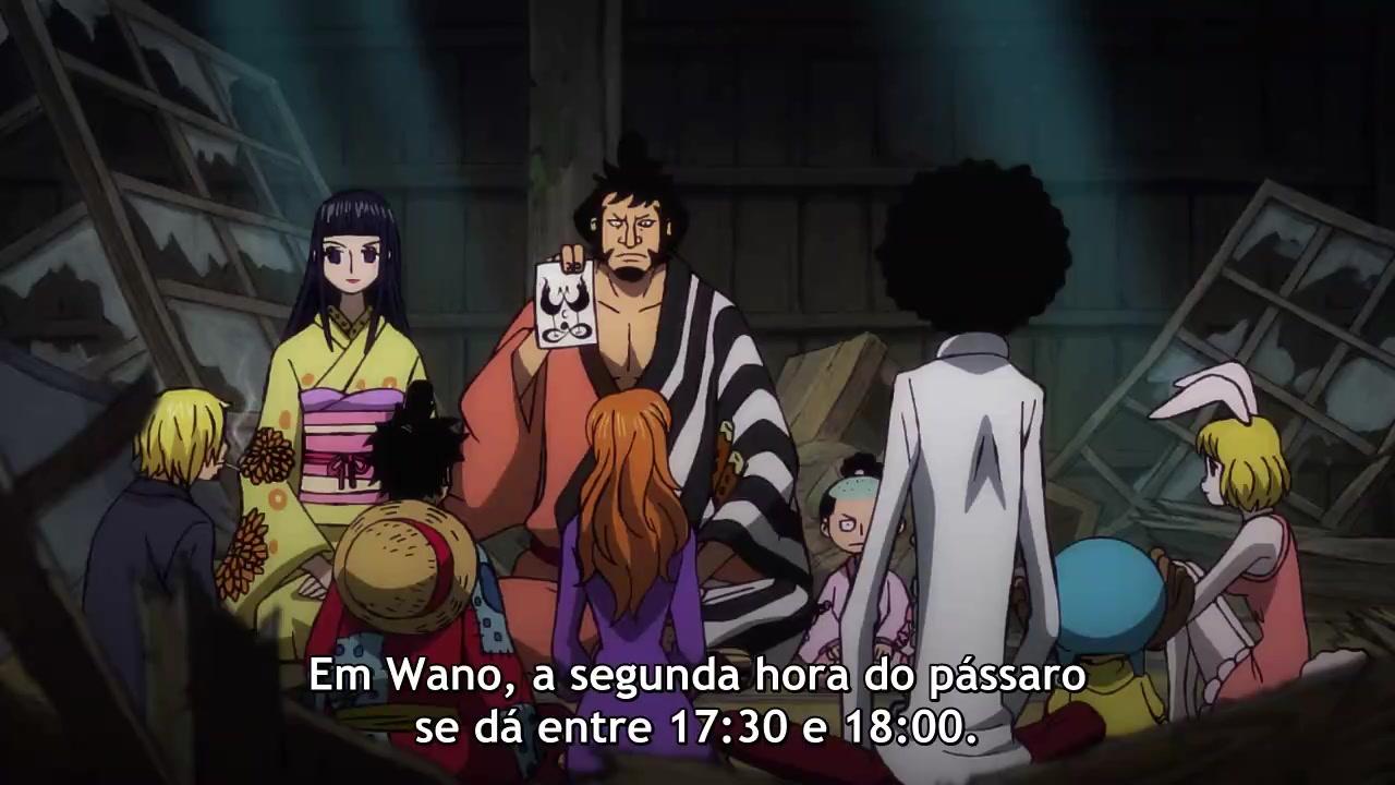 One Piece Episódio - 911Derrubem o Imperador do Mar! Começa a Operação....