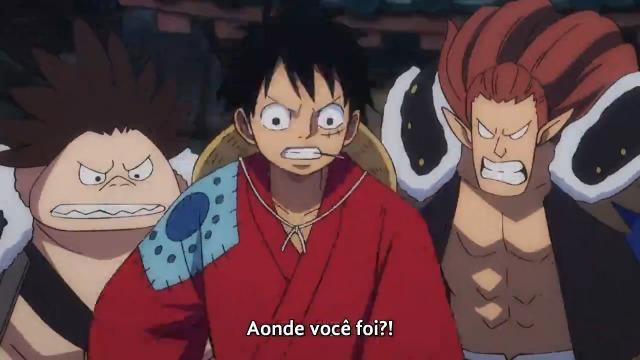 One Piece Episódio - 914Enfim, o Confronto! O Feroz Luffy vs. Kaido!