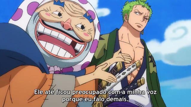 One Piece Episódio - 923Estado de Emergência! Big Mom se Aproxima!