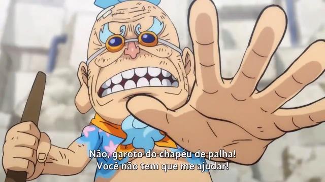 One Piece Episódio - 929Um Laço Entre Prisioneiros! Luffy e o Velho Hyo!