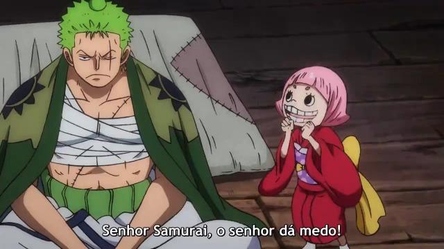 One Piece Episódio - 935 Zoro Espantado! A Chocando Identidade da Misteriosa Mulher!