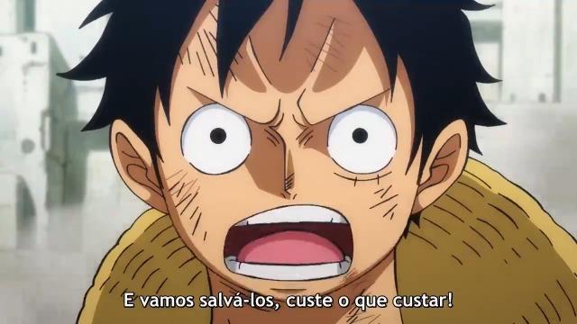 One Piece Episódio - 948Começa o Contra-Ataque! Luffy e os Samurais das Bainhas Vermelhas!