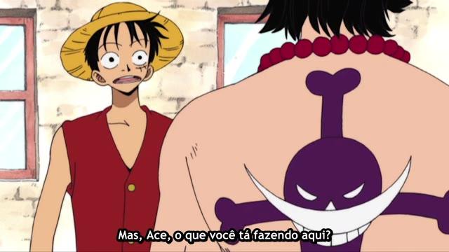 One Piece Episódio - 95Ace E Luffy!