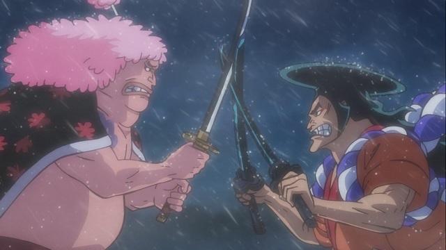 One Piece Episódio - 962Mudando o Destino! Os Piratas do Barba Branca lançados em terra!