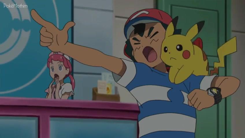 Pokemon Dublado Episódio - 1002O Rotom Está Fora de Controle!
