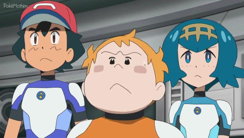 Pokemon Dublado Episódio - 1014Hora de Acordar, Nave!