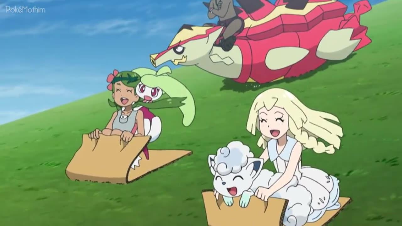 Pokemon Dublado Episódio - 1024Enchendo o Mundo de Amor!