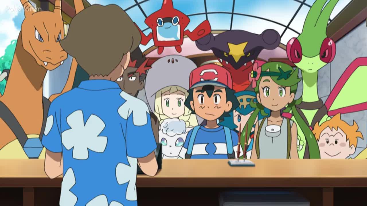 Pokemon Dublado Episódio - 1031Eu Escolho o Paraíso!
