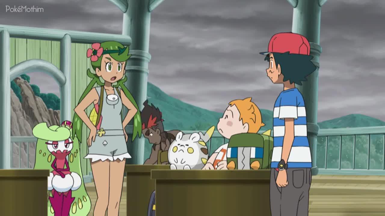 Pokemon Dublado Episódio - 1032Enchendo a Luz Com Escuridão!
