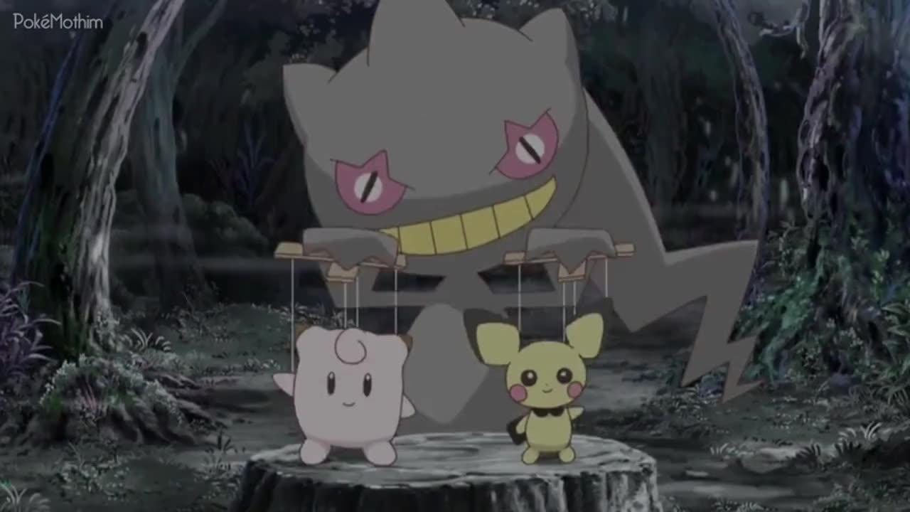 Pokemon Dublado Episódio - 1039Uma Casa Mal-assombrada Para Todo Mundo!