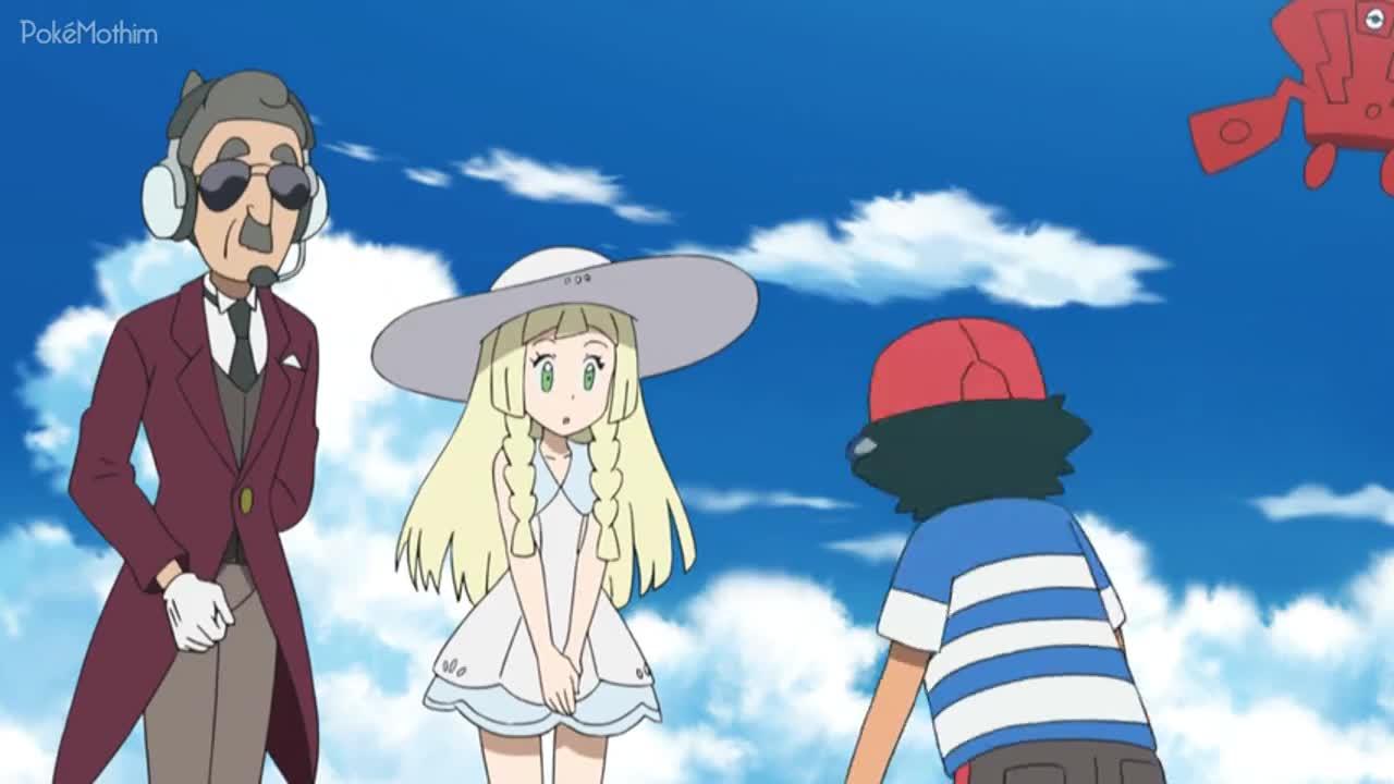 Pokemon Dublado Episódio - 1041Em Busca de Stufful!