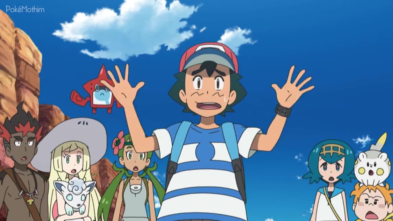 Pokemon Dublado Episódio - 1049Uma Pesquisa Apimentada!