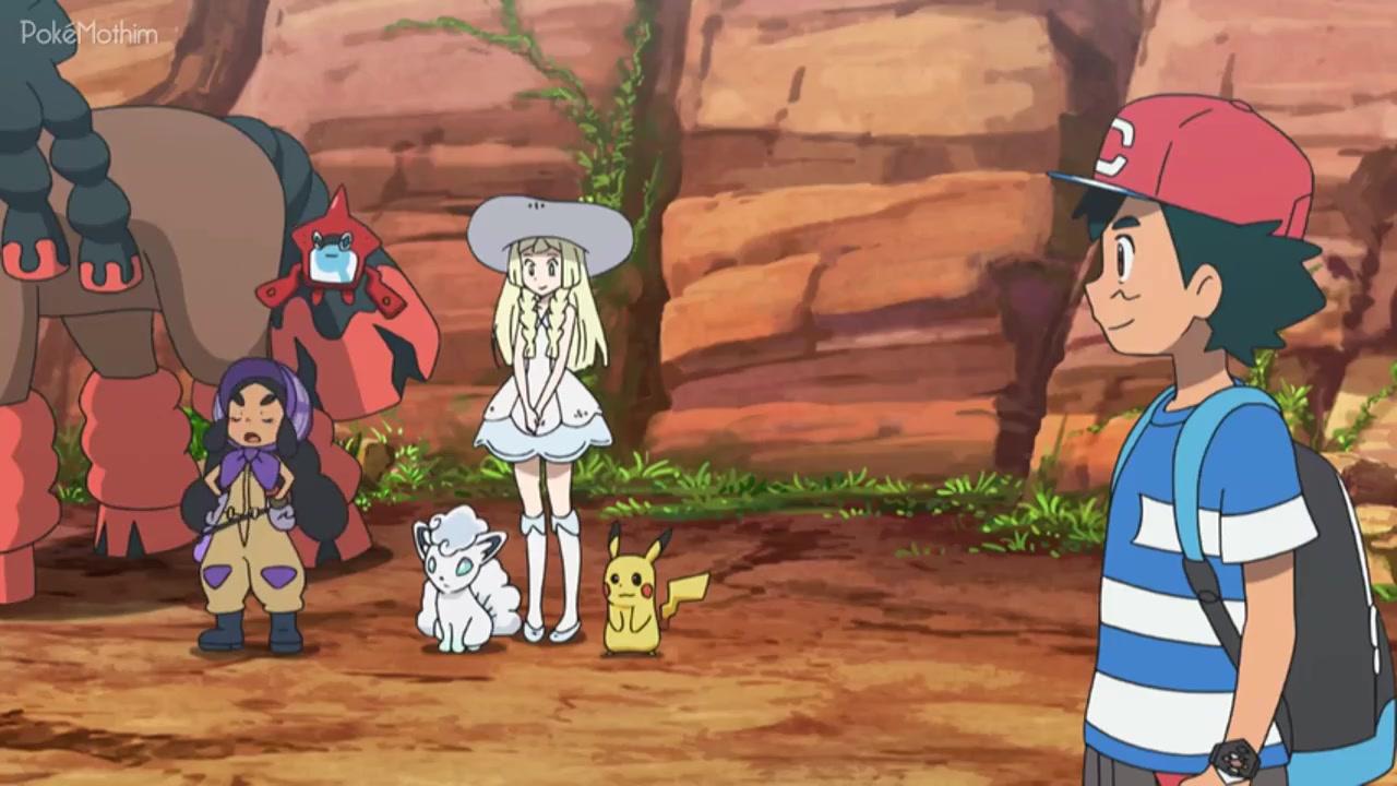 Pokemon Dublado Episódio - 1050Confronto na Ilha Poni!