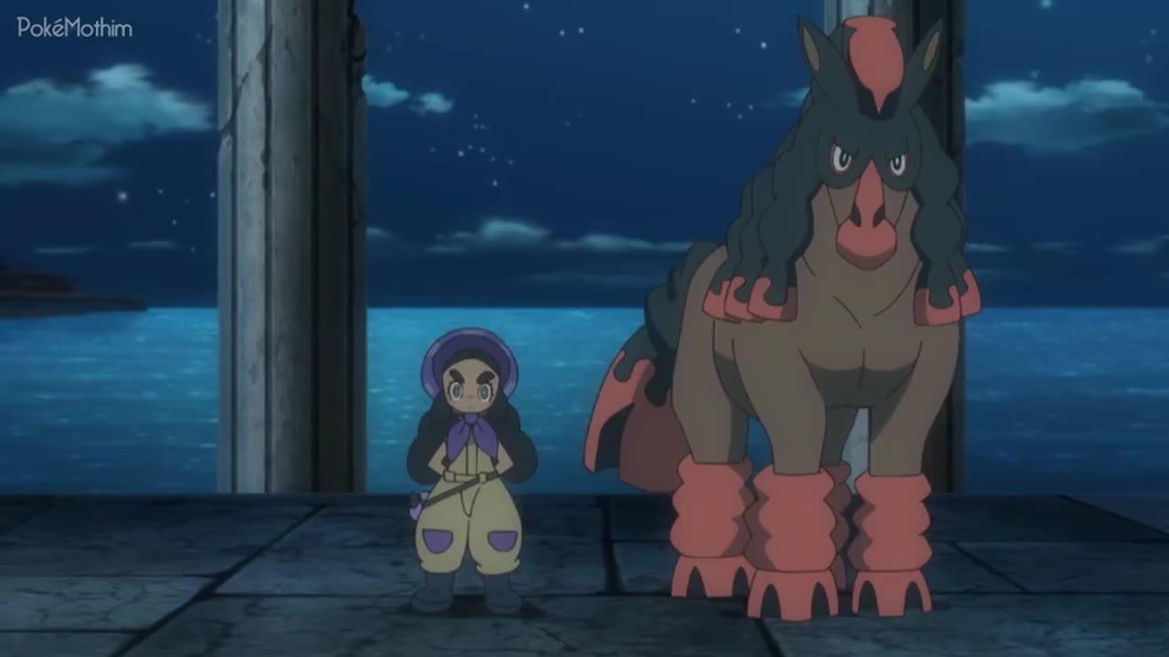 Pokemon Dublado Episódio - 1054Uma Grande Estreia!