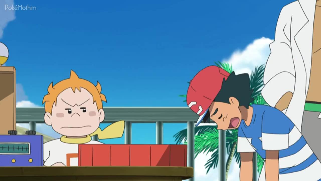 Pokemon Dublado Episódio - 1056Um Banquete Metálico!