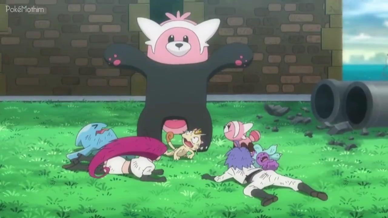 Pokemon Dublado Episódio - 1060O Agente da Destruição!