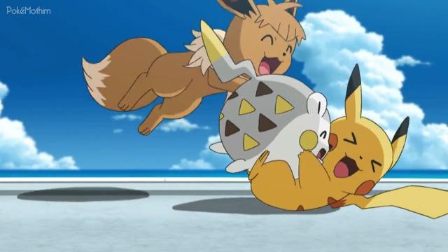 Pokemon Dublado Episódio - 1077Imitação é a Forma Mais Sincera de Estratégia!