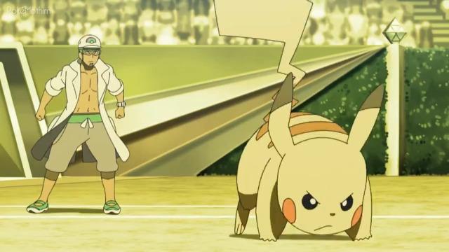 Pokemon Dublado Episódio - 1089Movimentos de A a Z!