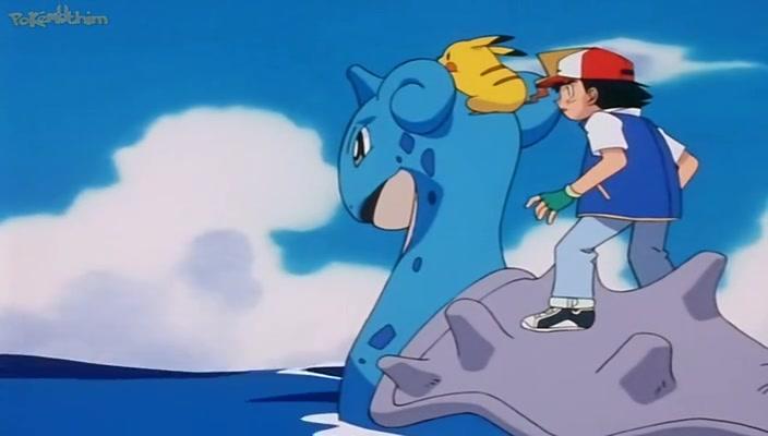 Pokemon Dublado Episódio - 115Viva Las Lapras