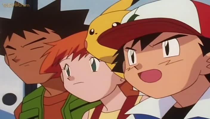 Pokemon Dublado Episódio - 145Colhendo Pokébolas!