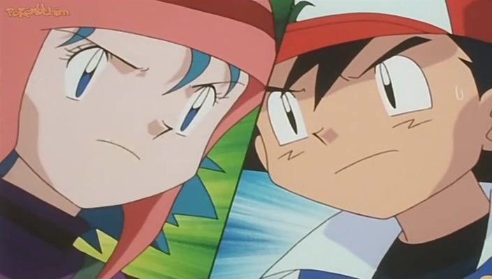 Pokemon Dublado Episódio - 154Batalhas Quentes!