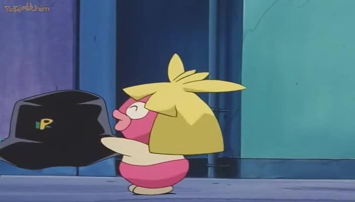 Pokemon Dublado Episódio - 205Um Beijo Doce de Mais