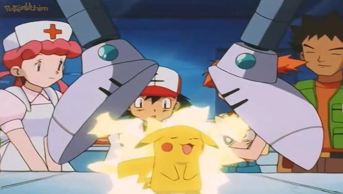 Pokemon Dublado Episódio - 208A Enfermeira Joy dos Pokémon de Água