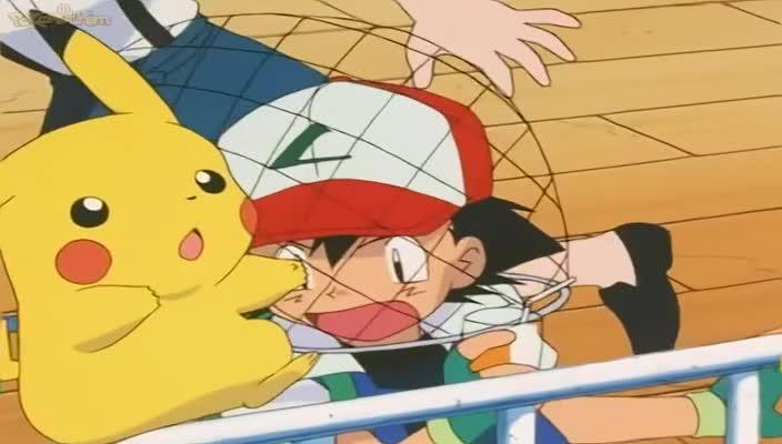 Pokemon Dublado Episódio - 212Enrolados nos Redemoinhos