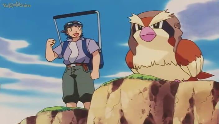 Pokemon Dublado Episódio - 213Voando Até a Lua
