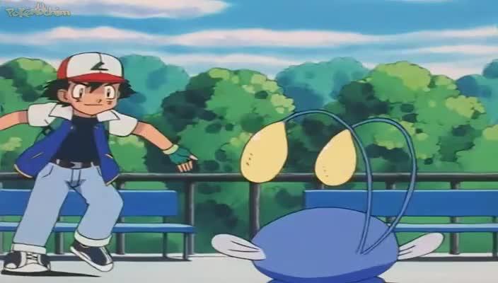 Pokemon Dublado Episódio - 214Uma Parada Eletrizante