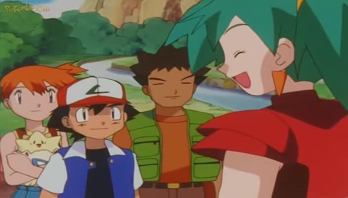 Pokemon Dublado Episódio - 255Cuspindo Fogo Adoidado!
