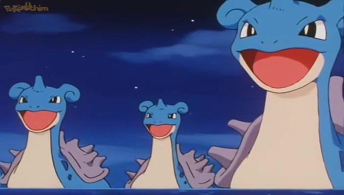 Pokemon Dublado Episódio - 259O Lapras de Luxo