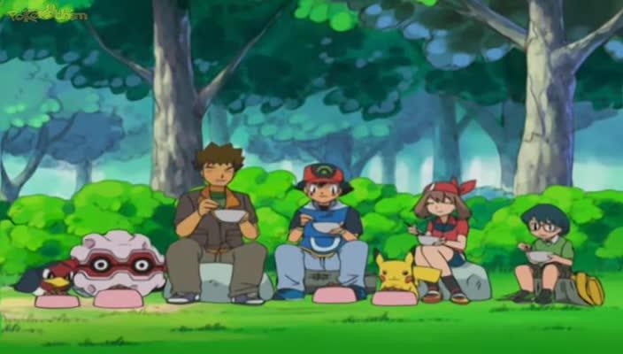 Pokemon Dublado Episódio - 284O Treecko é um Treco