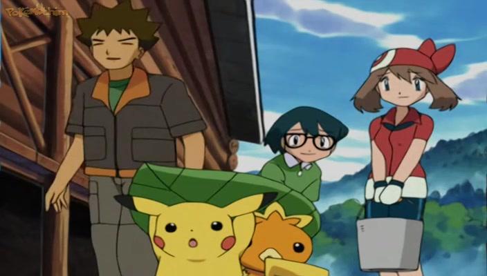 Pokemon Dublado Episódio - 288O Pequeno Lotad