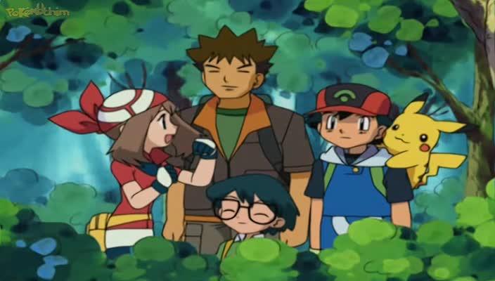 Pokemon Dublado Episódio - 290Muito Trabalho Por um Wurmple