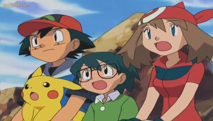 Pokemon Dublado Episódio - 322O Fervoroso Camerupt!