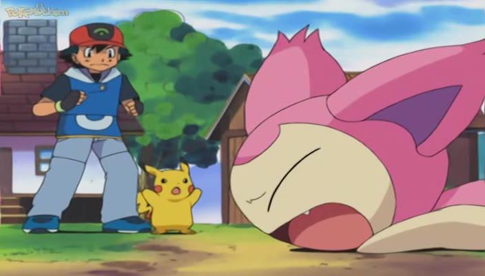 Pokemon Dublado Episódio - 329O Auxílio de Skitty