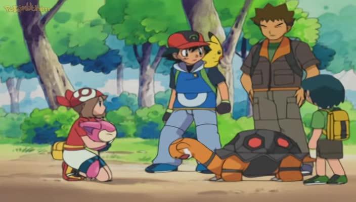 Pokemon Dublado Episódio - 336O Delcatty Comeu a Sua Língua