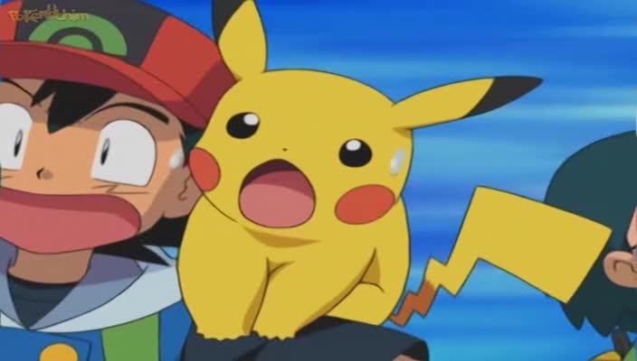 Pokemon Dublado Episódio - 339Lombre, o Senhor da Água