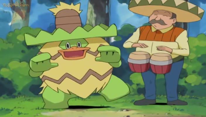 Pokemon Dublado Episódio - 343Vá, Vá, Ludicolo!